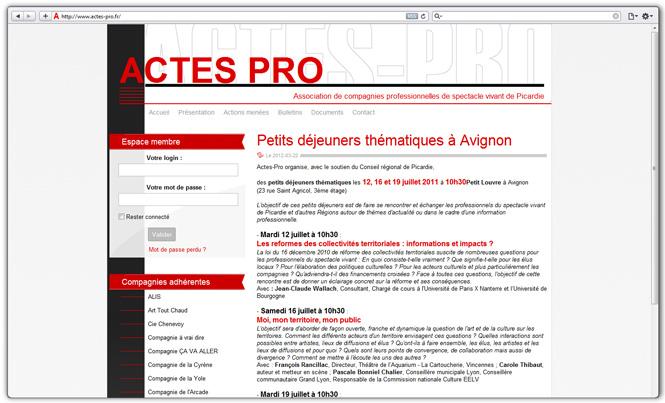 Actes Pro