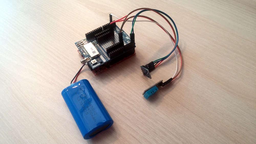 Cablage du prototype