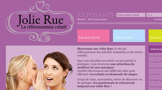 Jolie Rue, le site du rfrencement de loisirs cratifs