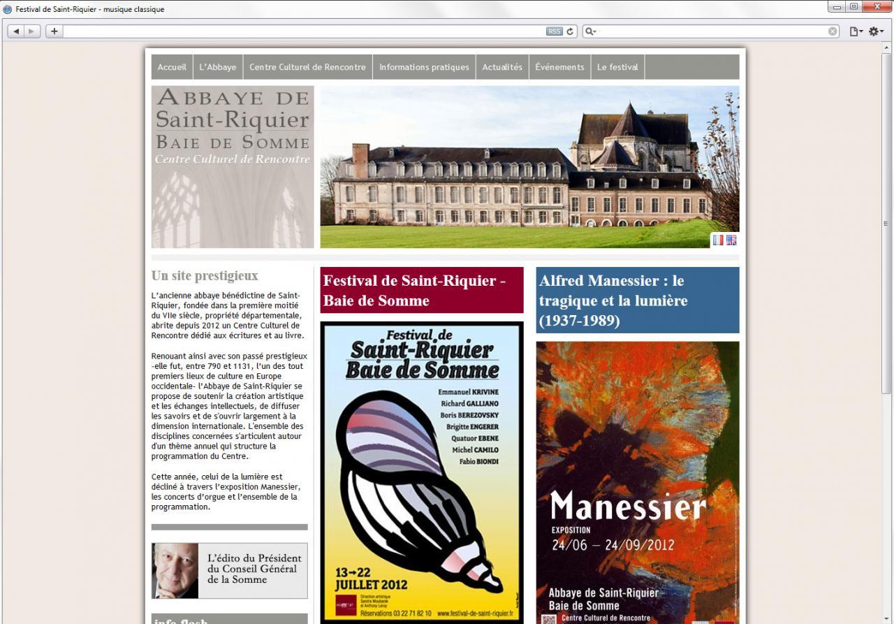 Centre Culturel de Rencontre de l'Abbaye de Saint-Riquier - Baie de Somme