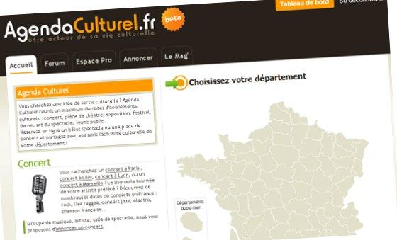 La V3 d&#039;Agenda Culturel beta : en ligne !