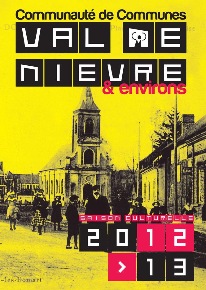 cr u00e9ation de l u0026 39 agenda culturel du val de ni u00e8vre 2012  2013