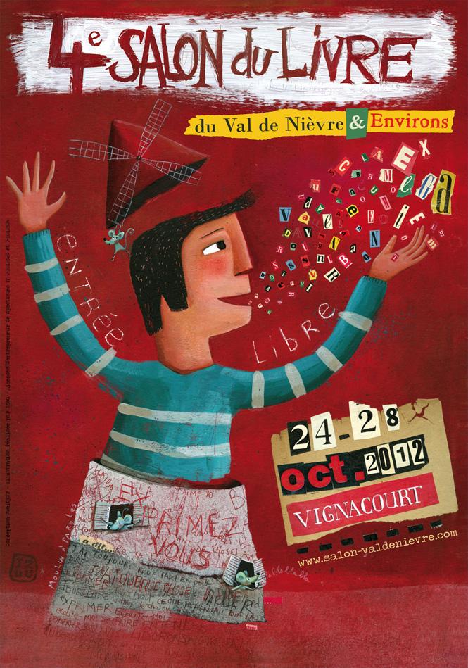 Quatrième salon du livre du Val de Nièvre