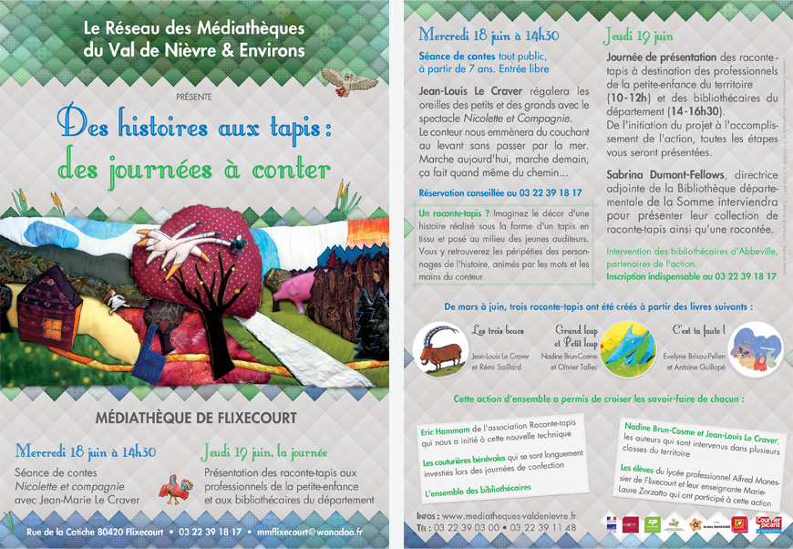 Flyer Raconte Tapis