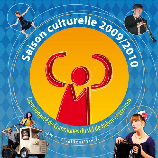 conception pao pour la ccvne   agenda culturel 2009