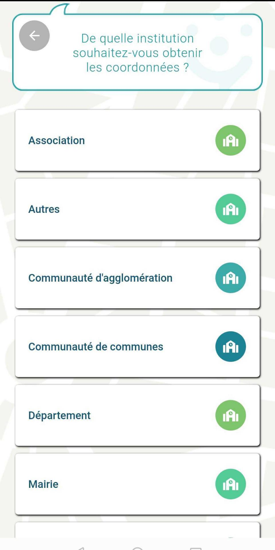 Application france contacts