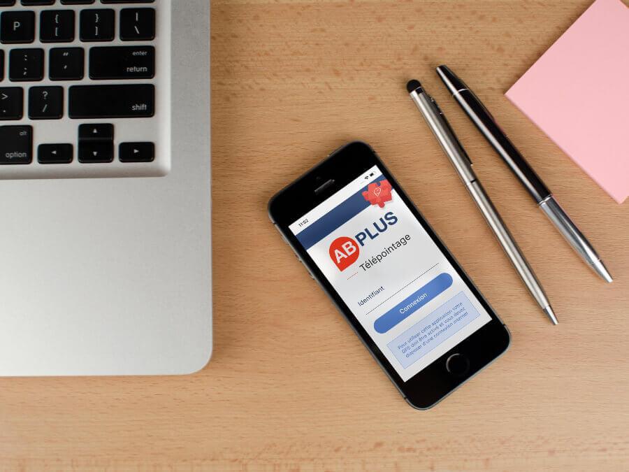 Application mobile ab plus