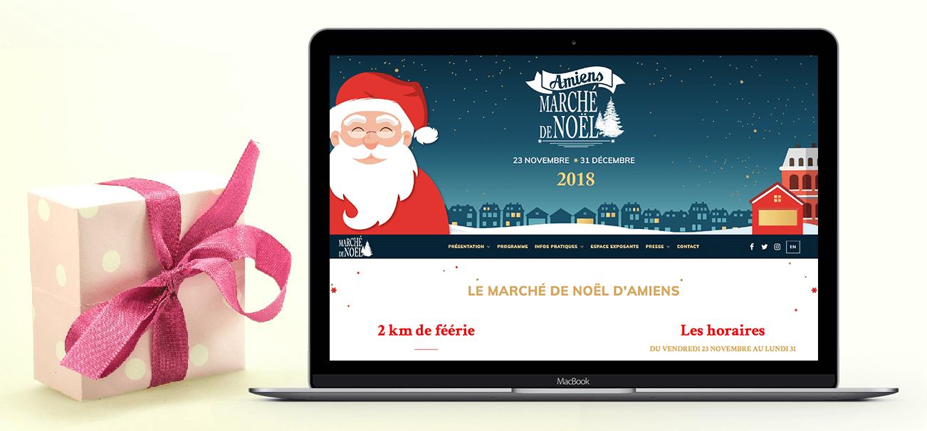 Edition 2018 du Marché de Noël à Amiens