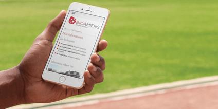 Bioamiens smartphone