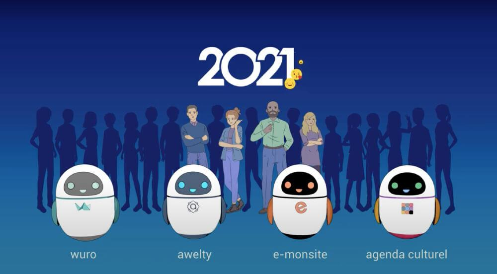 Bonne annee 2021 groupe awelty