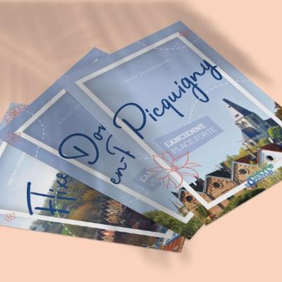 Brochures touristiques nievre somme