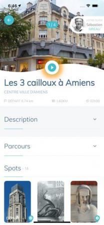 Visite guidée Amiens UP Spot