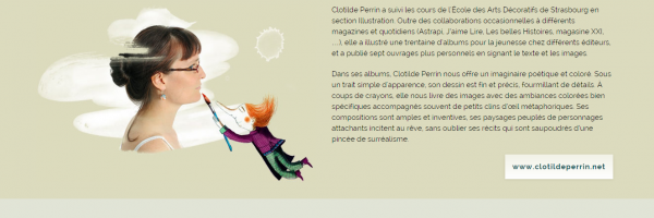 Clotilde Perrin illustratrice de livres pour enfant