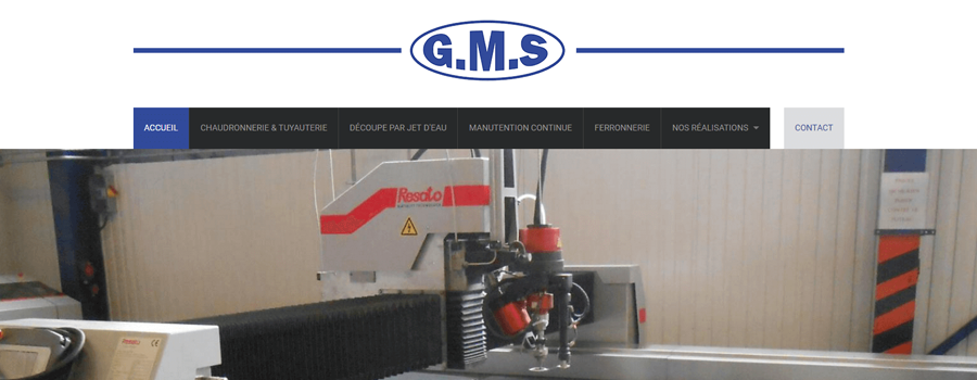 Creation site gms