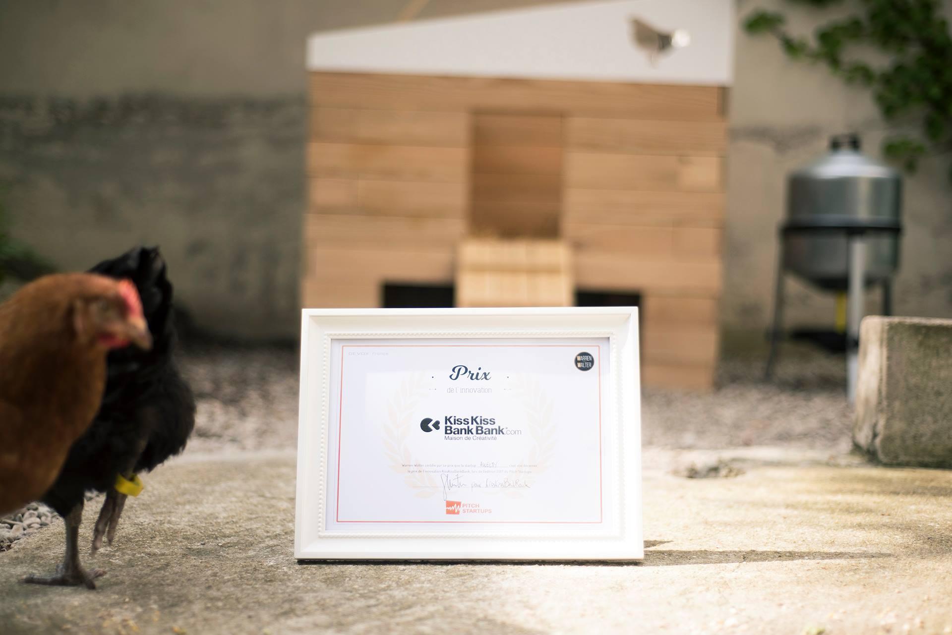 Eggs iting remporte un prix à Devoxx 2017