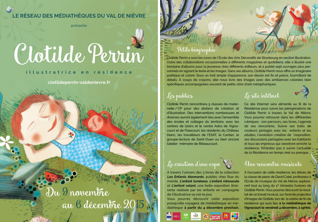 Flyer Clotilde Perrin