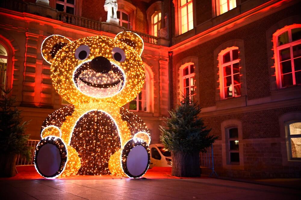 Hotel de ville - Marché de Noël d'Amiens