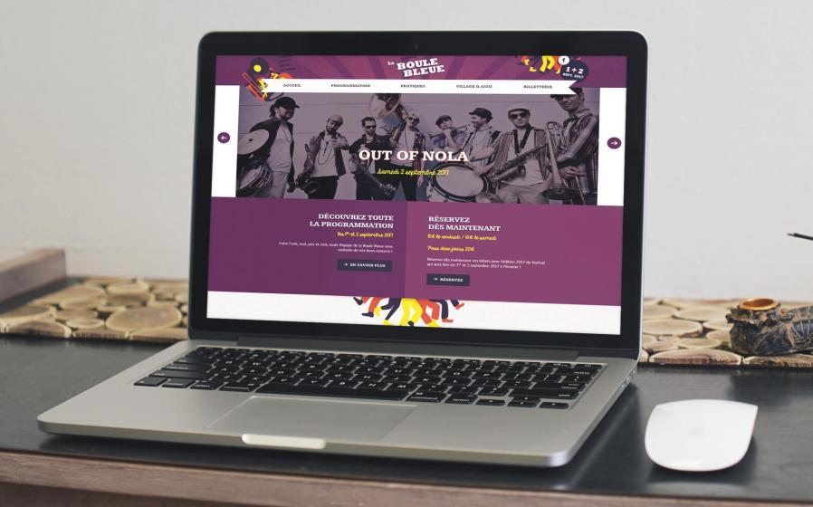 Site web la boule bleu 2017