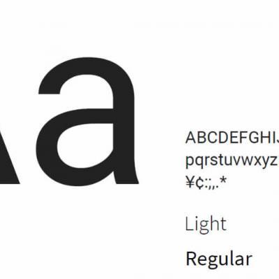 Illustration les typographies