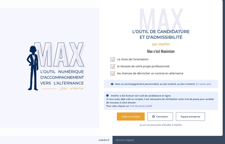 Max outil numerique interfor