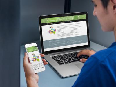 Responsive design site vitrine ccvne