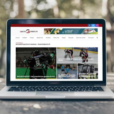Refonte site gazette sports