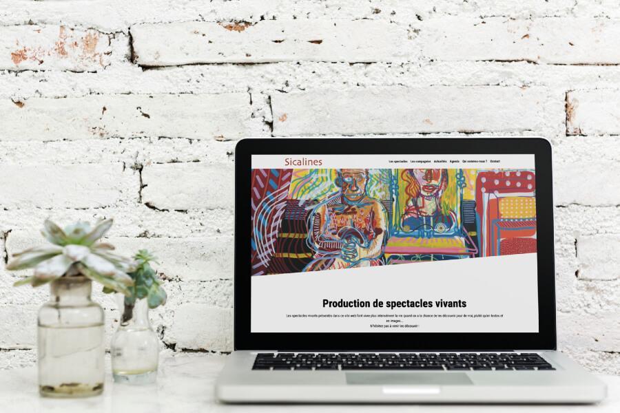 Refonte site internet sicalines