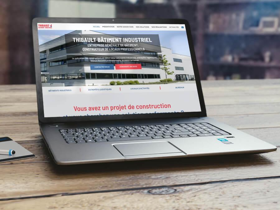 Refonte site thibault batiment industriel