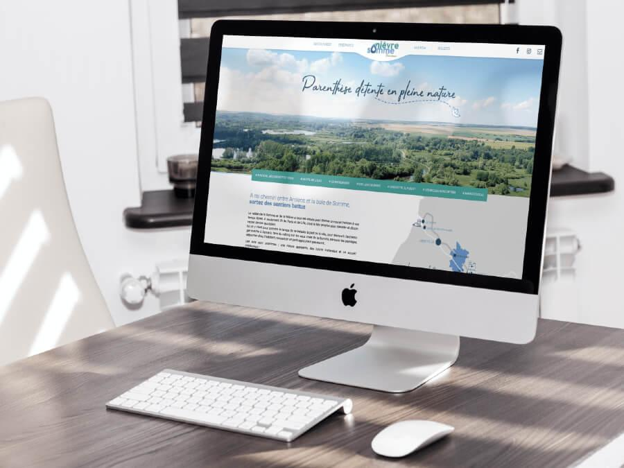 Refonte site web office tourisme nievre somme