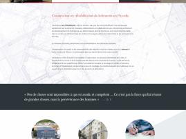 Réhabilitation de bâtiments en Picardie