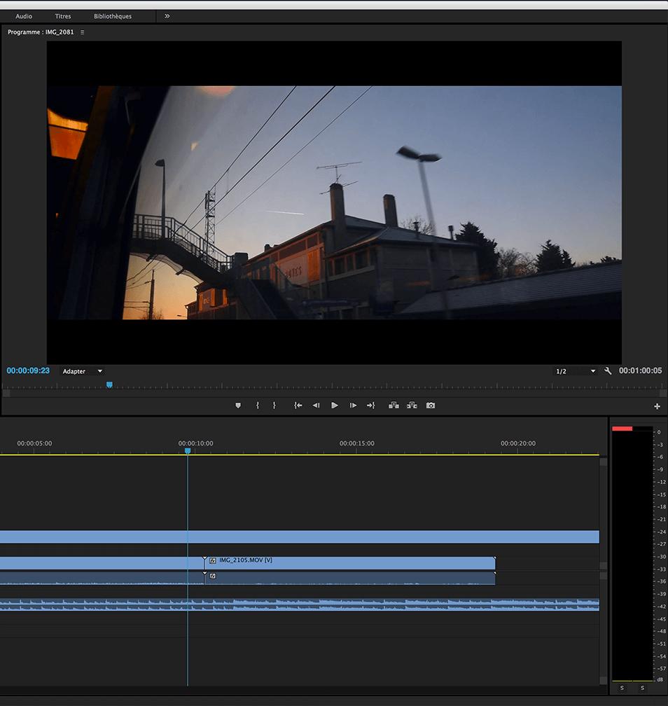 Etalonnage vidéo à Amiens