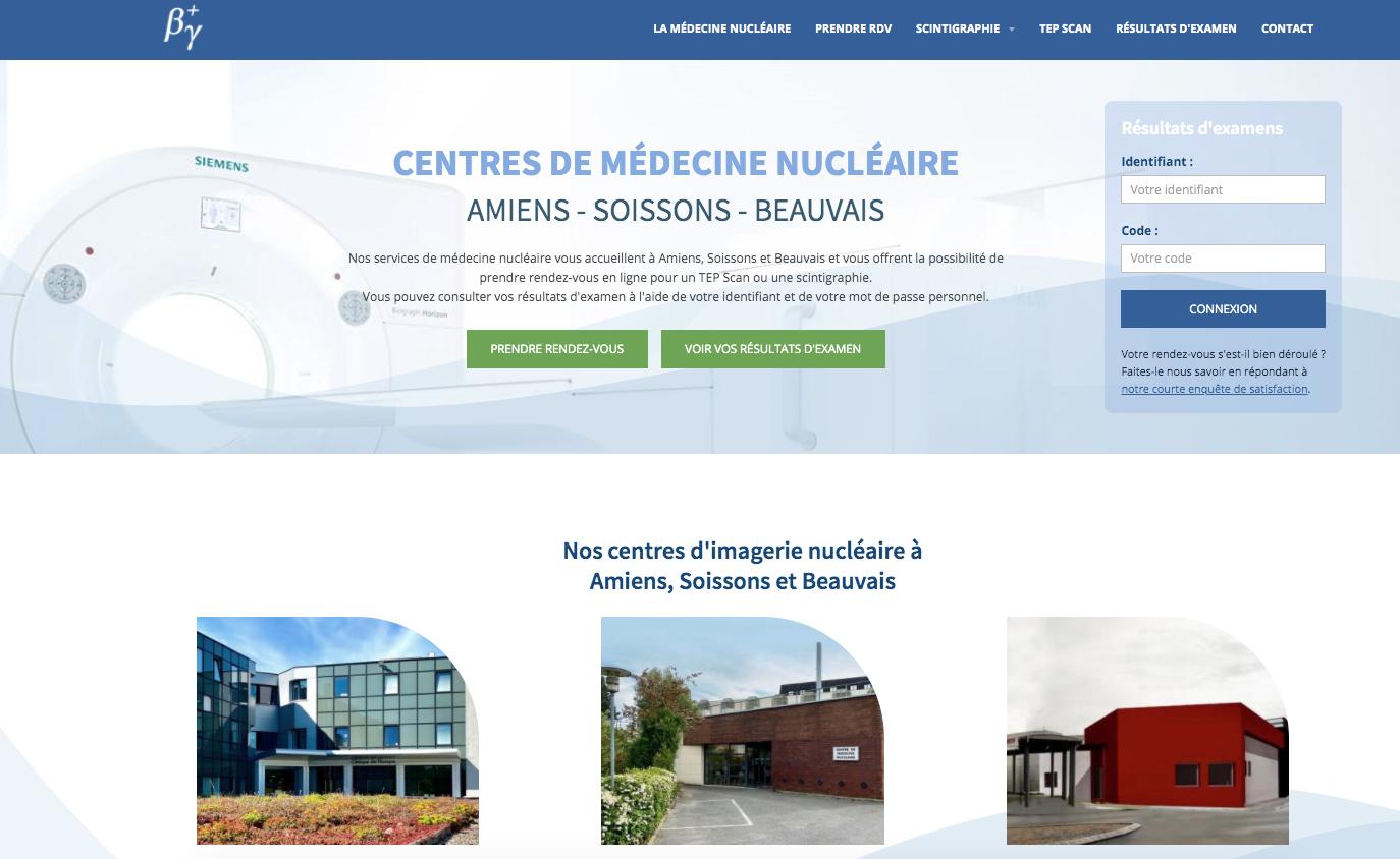 Site centre medecine nucleaire