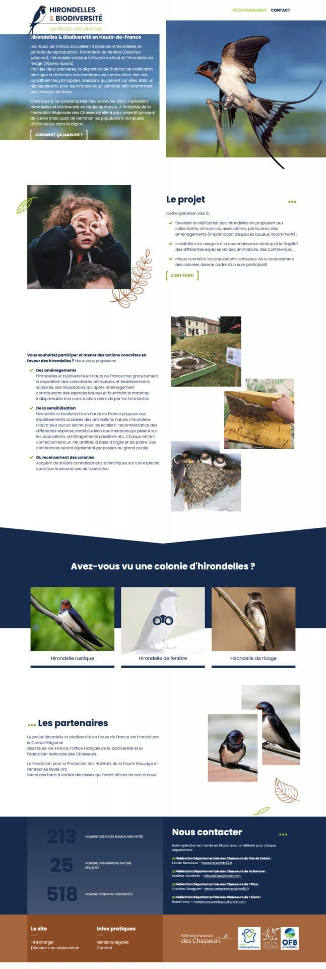 Site hirondelles et biodiversite