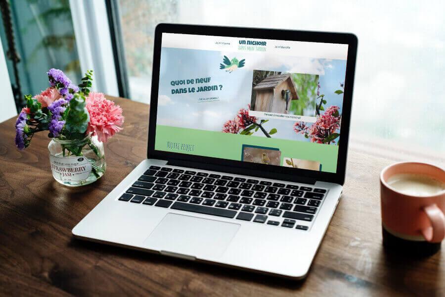 Site web nichoir dans mon jardin