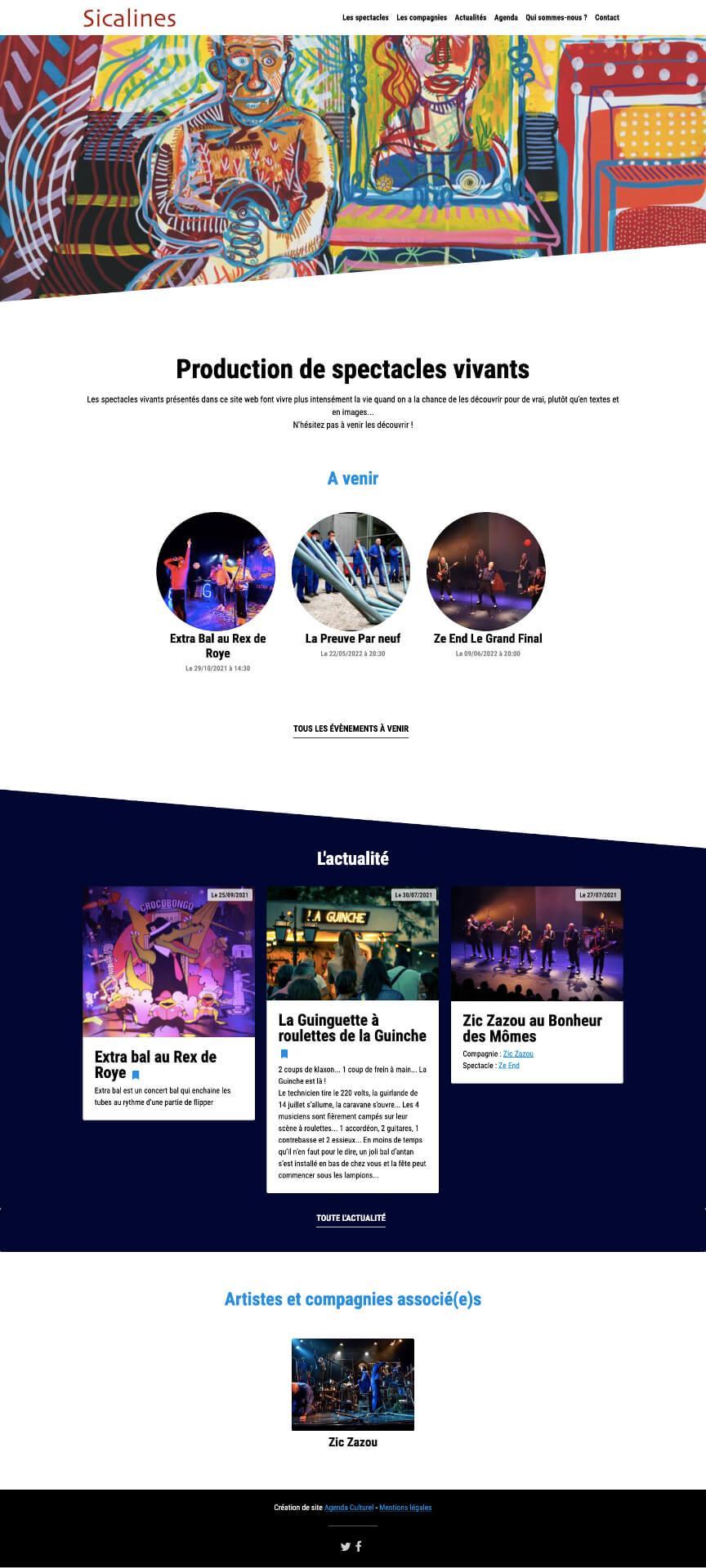 Site web sicalines