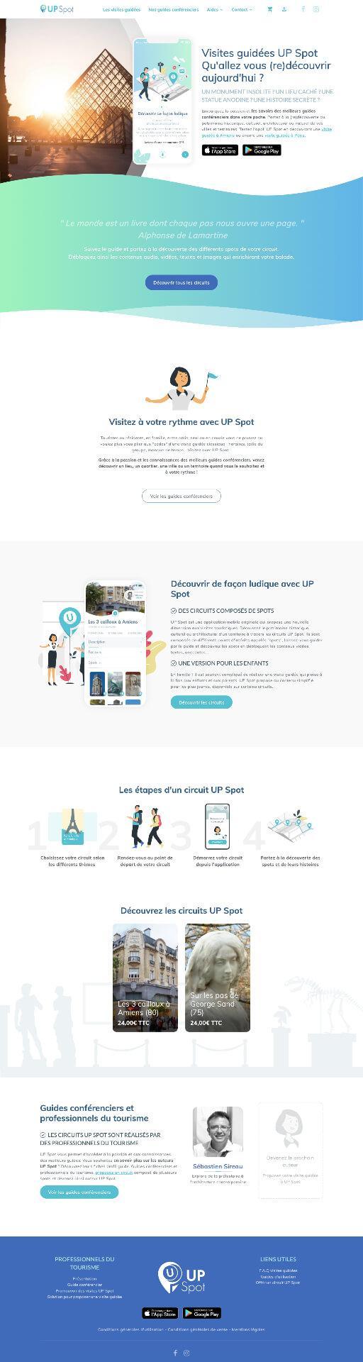 Site web upspot